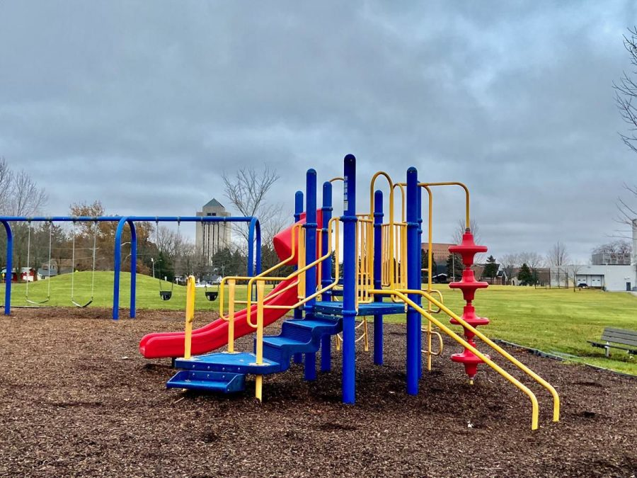While+parks+and+trails+will+remain+open%2C+playgrounds+like+the+one+at+Welsh+Park+will+be+closed+due+to+COVID-19+concerns.