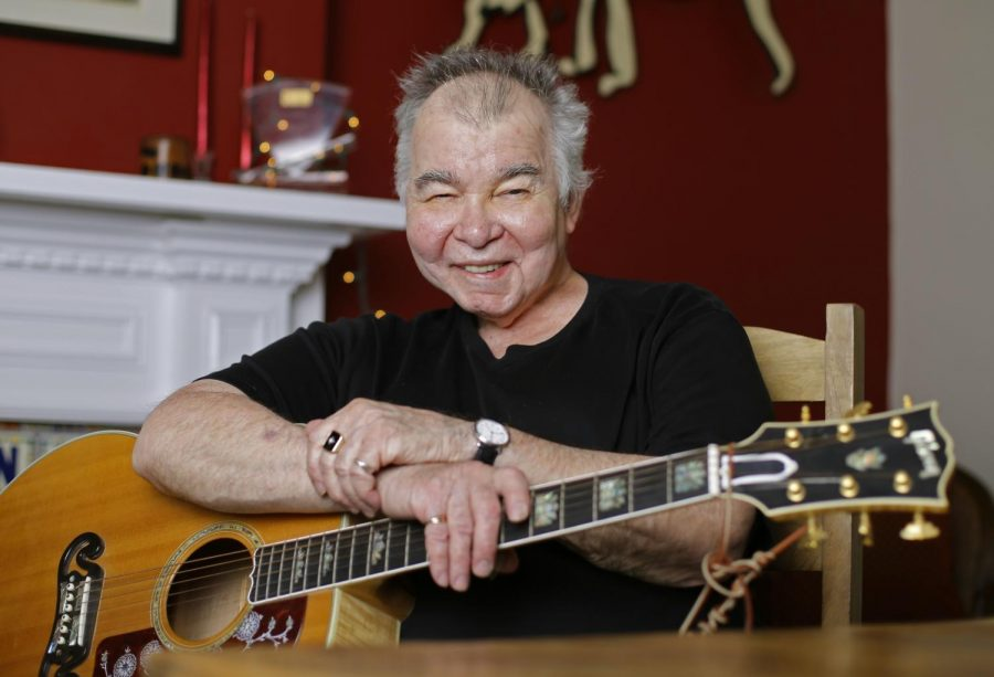 John Prine, country folk singer-songwriter, sits in his office in in Nashville in a 2017 file photo.