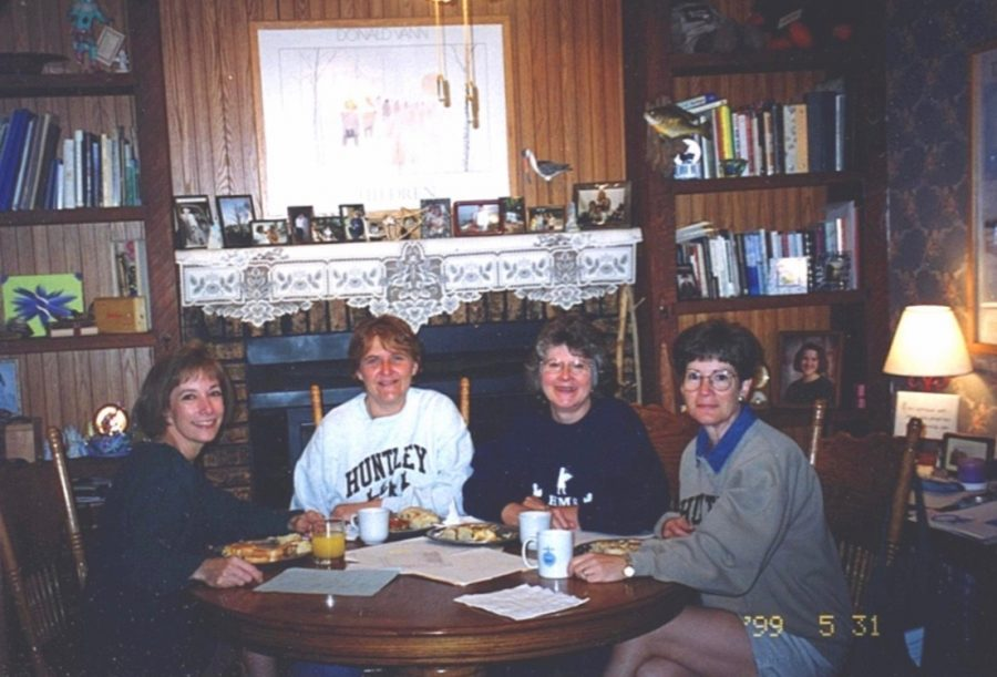 Sheila Barrow (from left), Gloria Hollifield, Nancy Apperson and Cathy Carter.