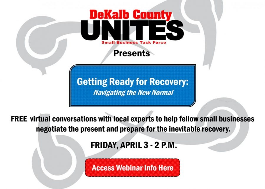 DeKalb County UNITES holds first webinar to help businesses