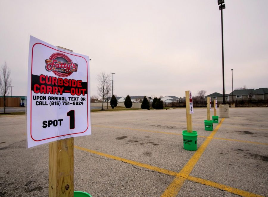 Fatty's Pub & Grille, 1312 W. Lincoln Highway, has shifted to curbside carry-out in light of Illinois Governor J.B. Pritzker's order to close all dine-in bars and restaurants in Region 1.