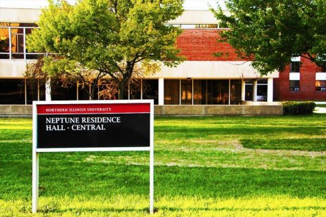 Neptune Hall North provides space for first responders during COVID-19 pandemic.