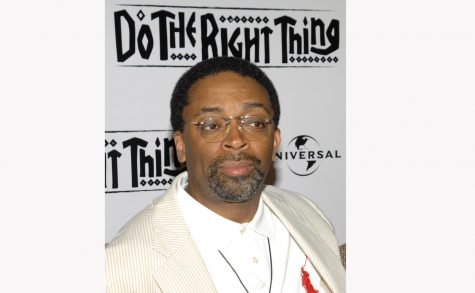 Spike Lee at Do the Right Thing premiere