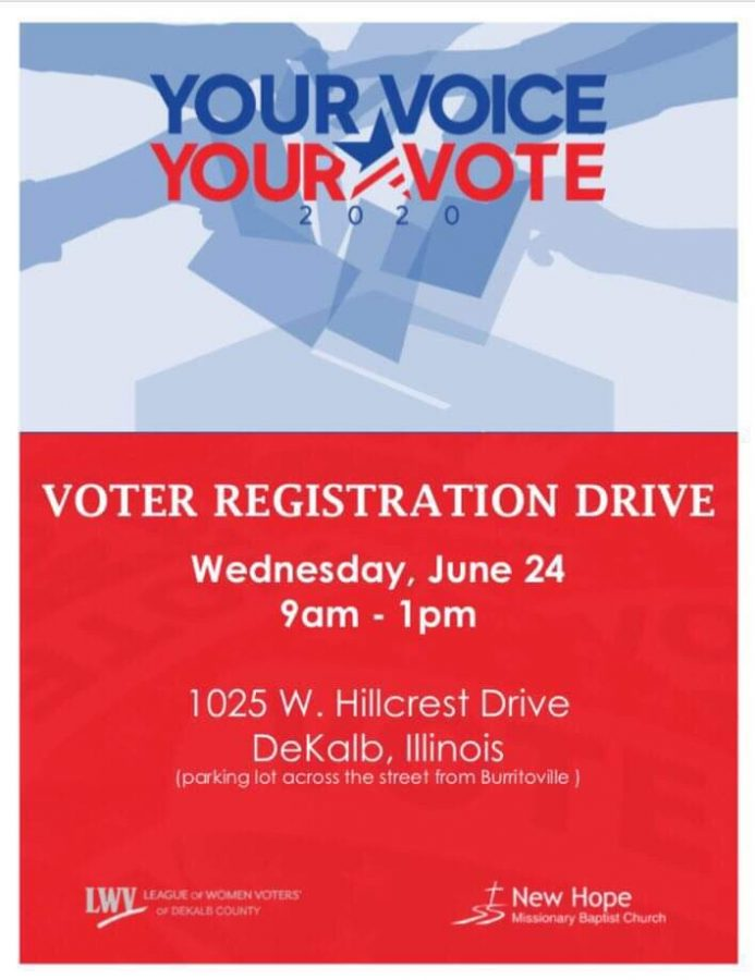 League+of+Women+Voters+to+host+voter+registration+drive