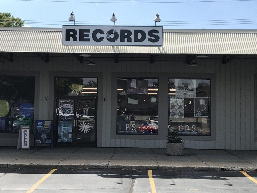 Green Tangerine Record Store