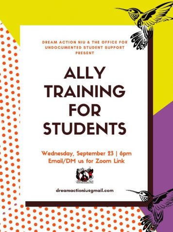 DREAM Action NIU offers ally training workshop