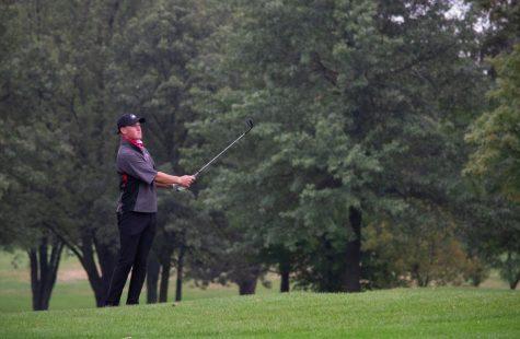 Mens golfs Russell Matos wins in playoff