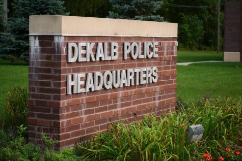DeKalb Police Headquarters, 700 W. Lincoln Highway.
