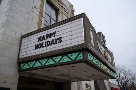 Egyptian theatre wishes DeKalb a happy holiday.