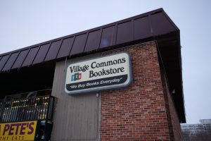 Village Commons Bookstore, 901 Lucinda Ave., has sold items ranging from general school supplies to Huskie themed Christmas decorations and mugs since its opening in 1970.