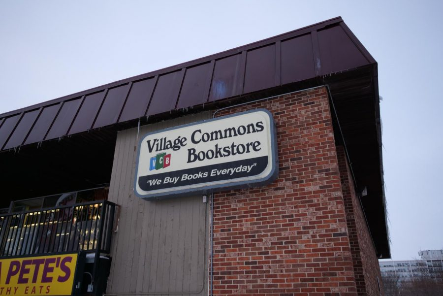 Village+Commons+Bookstore%2C+901+Lucinda+Ave.%2C+has+sold+items+ranging+from+general+school+supplies+to+Huskie+themed+Christmas+decorations+and+mugs+since+its+opening+in+1970.%C2%A0