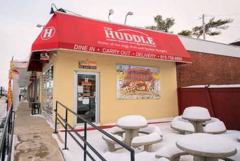 The Huddle Restaurant located at 817 W. Lincoln Highway in DeKalb prepares to reopen indoor dining with Illinois moving into phase 4.
