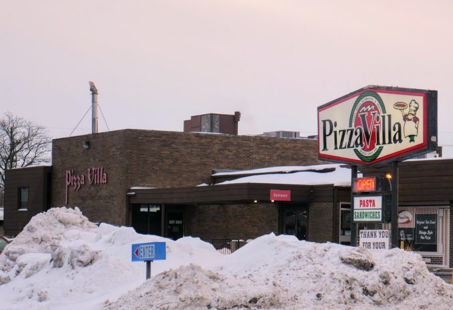 Pizza Villa located at 824 W. Lincoln Highway in DeKalb opens up indoor dining as Illinois moves into phase 4.