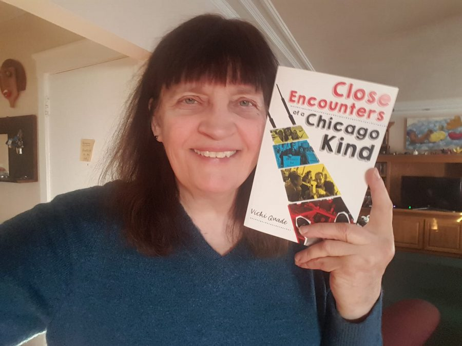Alumna Vicki Quade tells quirky stories in 'Close Encounters of a Chicago Kind'