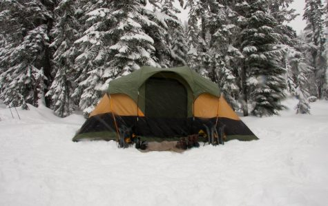 That time I ... went winter camping