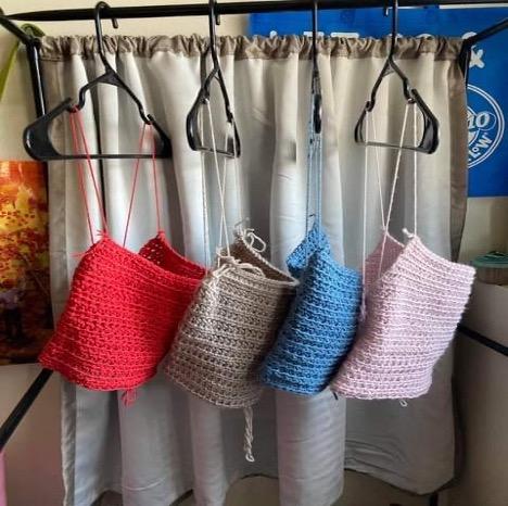 DeKalb resident establishing small business selling crochet tops