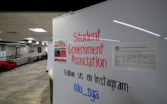 The Student Government Association is located in Holmes Student Center on the ground floor in the OASIS space.