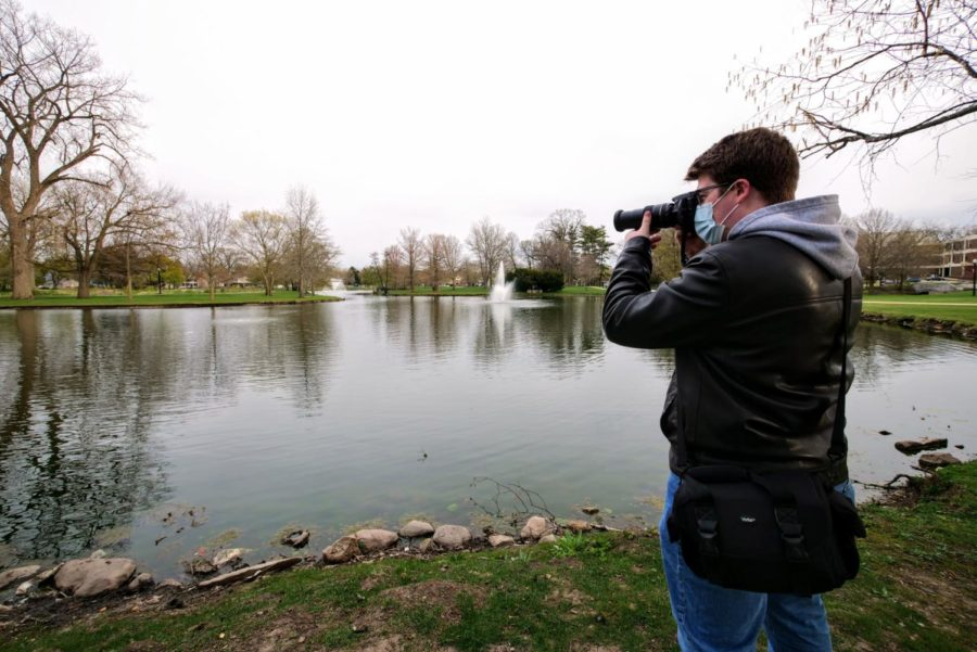 The Lagoon is another staple of NIU's campus. It is a phenomenal spot for a walk, to do homework, and of course photograph nature and wildlife.