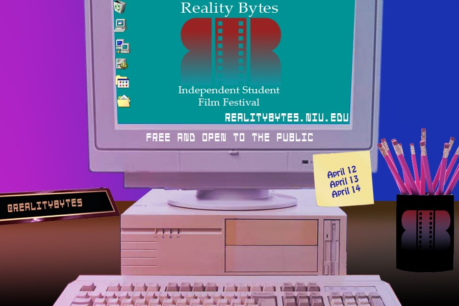 Reality Bytes poster created by Patrick Murphy