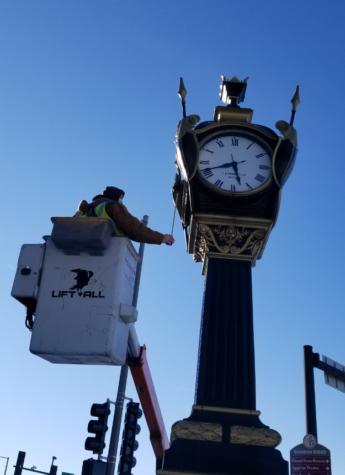 DeKalb Rotary Club plans to restore Soldiers and Sailors Memorial Clock