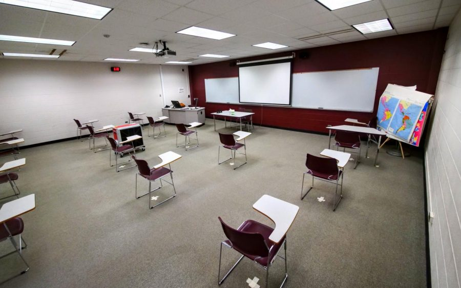 Funds have been used to purchase new hardware and software for  classrooms across campus, a majority of those at NIU in DeKalb.