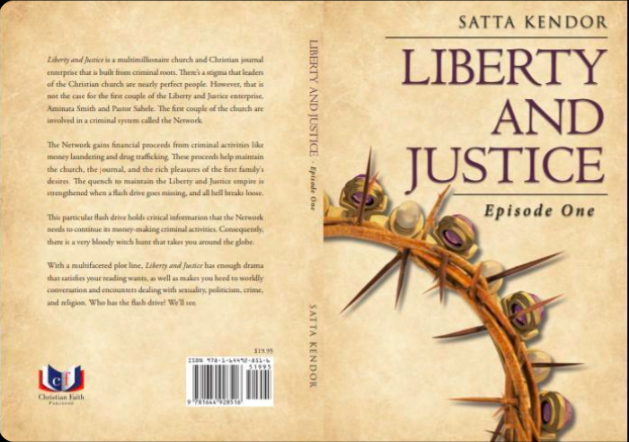"""""""Liberty and Justice"""" book cover."""