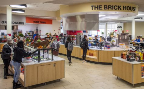 There are many food and drink options NIU students to choose from at New Hall Dining and other location across campus.