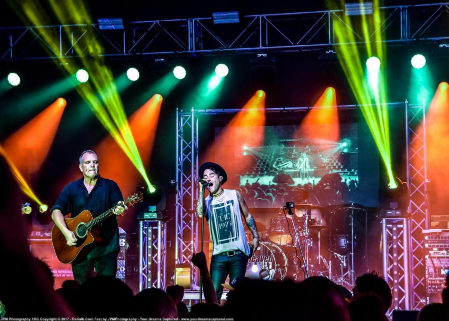 The band 7th heaven performed in 2019 at Corn Fest in downtown DeKalb. The band returns to the Corn Fest Sound Stage 9 p.m. Aug. 27 in downtown DeKalb