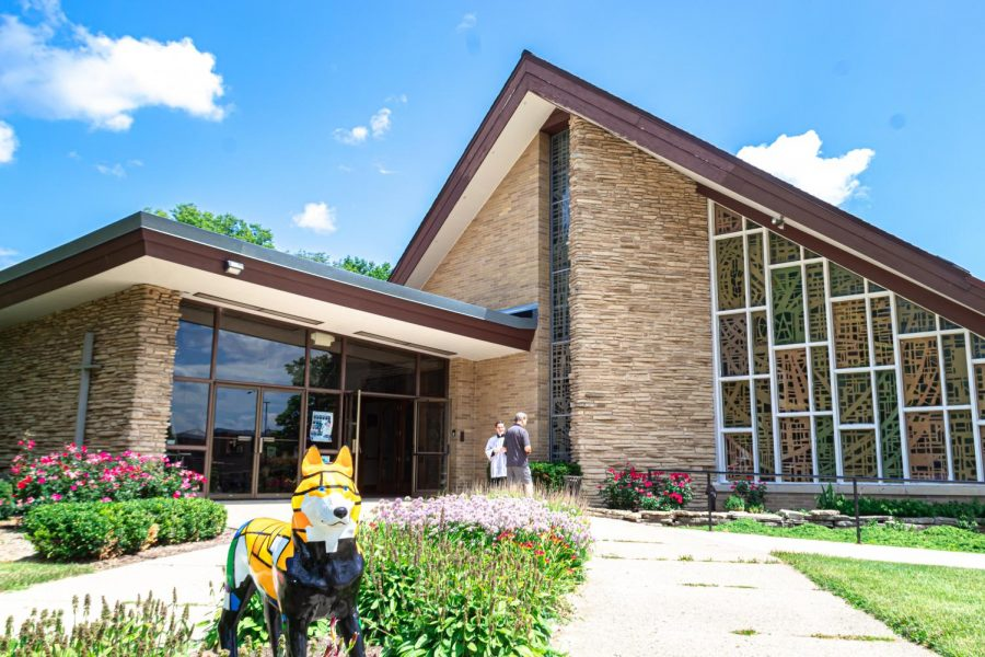 The Newman Catholic Student Center is located next to the NIU Campus Life Building. The center is one of 15 recognized religious organizations on campus.