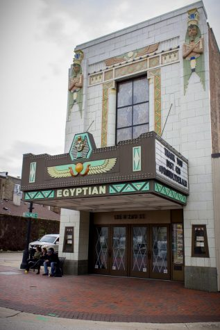 The Egyptian Theatre building.