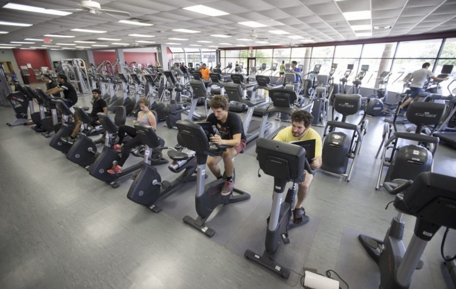 NIU students and DeKalb residents are able to utilize fitness equipment at the Rec Center and other fitness centers on campus.