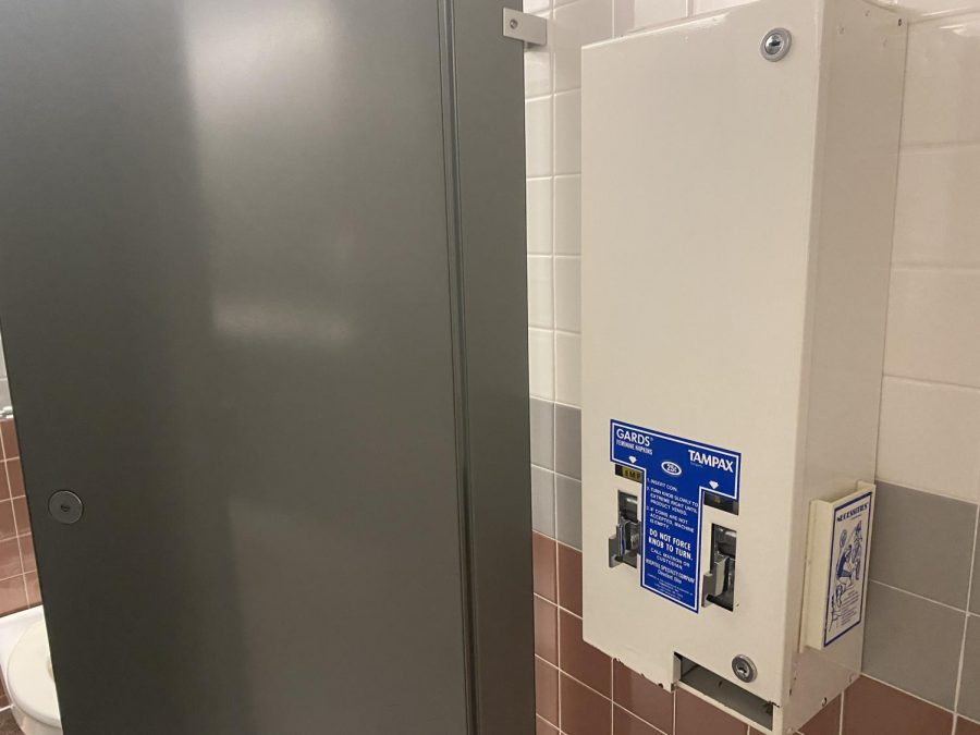 NIU plans to convert the current dispensing machines for menstrual products in women's restrooms so they won't require money.