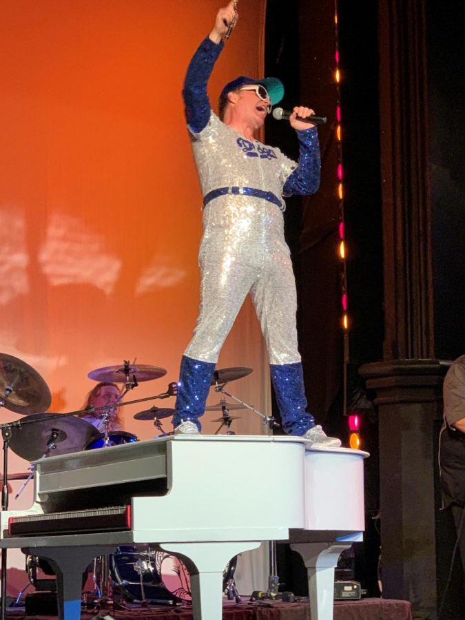 Gerald Brann will perform at the Egyptian Theatre's Yellow Brick Road: Tribute to Elton John at 7:30 p.m. Saturday.