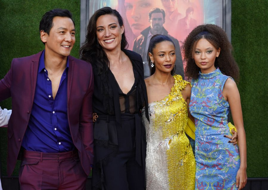 Lisa Joy, second from left, writer/director of