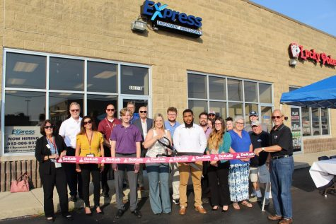 Express Employment Professionals joins DeKalb Chamber of Commerce.