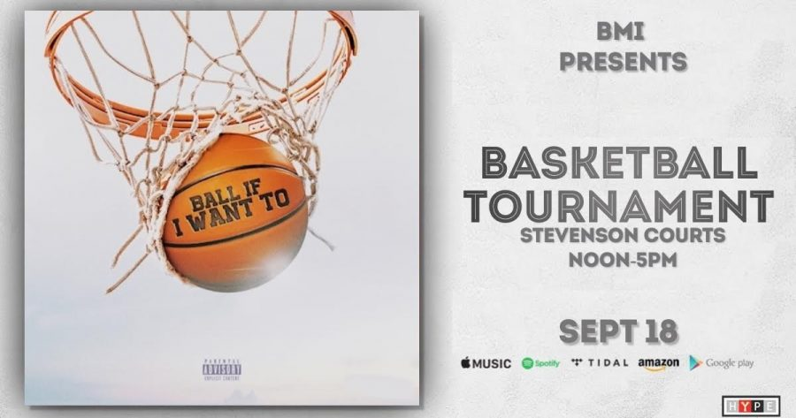 BMI will host events on the week of Sept. 18-24. The BMI basketball tournament will be  from noon-5 p.m. on Sept. 18 at Stevenson courts.