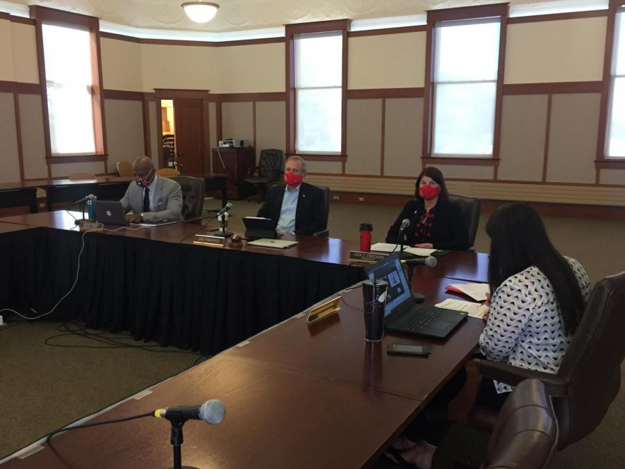 The Board of Trustees approved the sale of the Hoffman Estates campus at their special meeting at 10 a.m. Thursday.