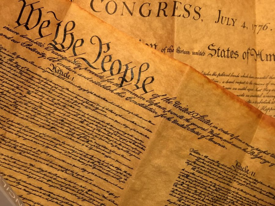 Constitution Day is celebrated on Sept. 17. he Constitution of the United States was signed Sept. 17, 1787, and in 2004 Congress enacted a law to formally celebrate.