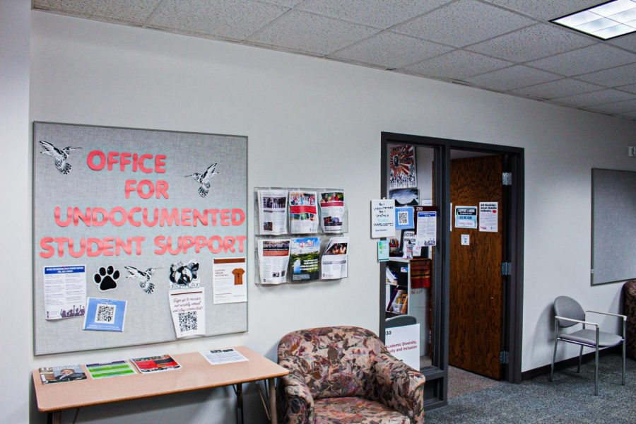 The Office for Undocumented Student Support is located in the Campus Life Building, Room 230.