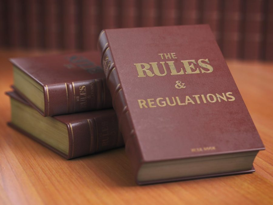 A book of rules and regulations, but some sports add unwritten rules from a bygone era.