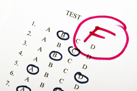 Columnist Ally Formeller expresses how failing a test does not mark the end of the world.