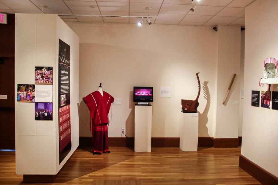 The NIU Art Museum is showing an exhibit through Nov. 12 featuring the culture of Karen refugees, who come from a region of Myanmar (formerly Burma).