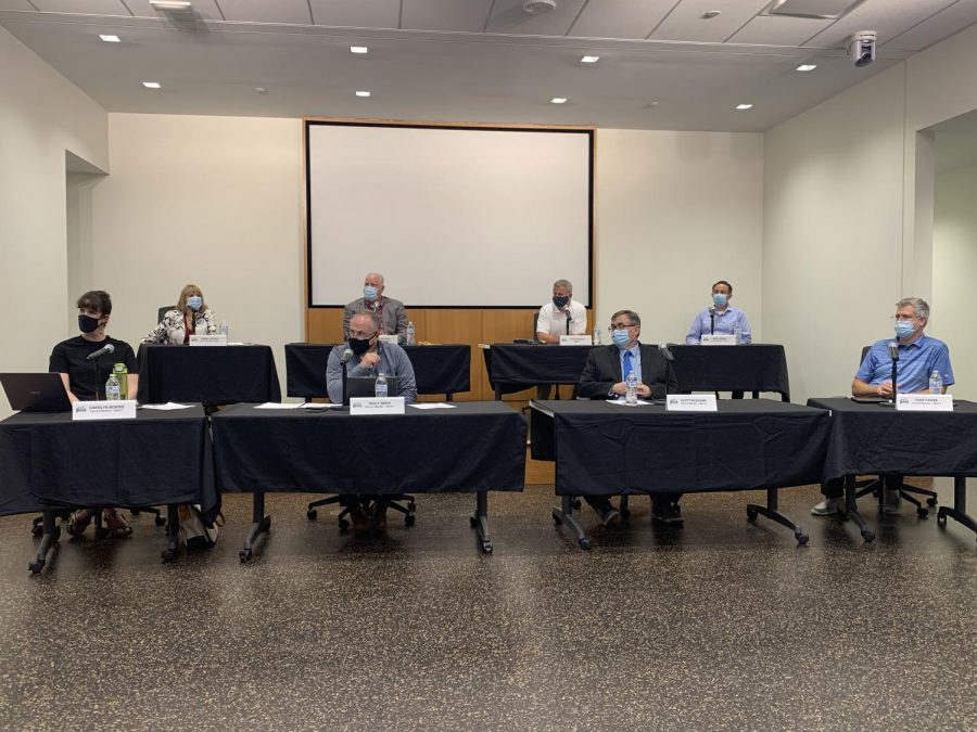 8 alderpeople at DeKalb City Council meeting on Monday.